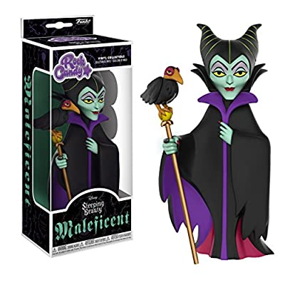 Funko Rock Candy: Disney - Maleficent Collectible Vinyl Figure: Funko Rock Candy:: Toys & Games