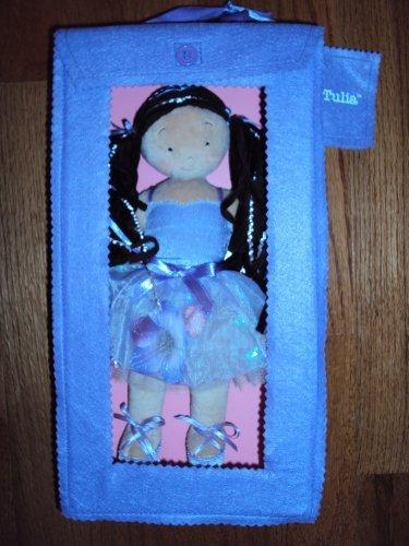 Tulia Purple Tutu/tan in Purple Gift - Bear North American Toddler Doll