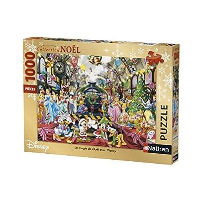 Nathan Puzzle Magia Di Natale Con Disney 1000 Pezzi 87565