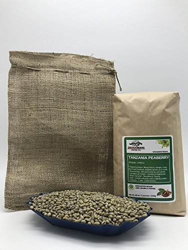 green coffee beans peaberry - 7