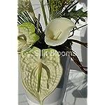 Modern-Green-Cream-Anthurium-Calla-Lily-Vase-Display