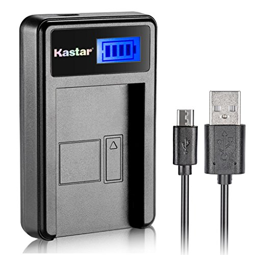 Kastar LCD USB Charger for Canon NB-5L NB5L and Powershot S100, S110, SX230 HS, SX210 IS, SD790 IS, SX200 IS, SD800 IS, SD850 IS, SD870 IS, SD700 IS, SD880 IS, SD950 IS, SD890 IS, SD970 IS, SD990 IS ()