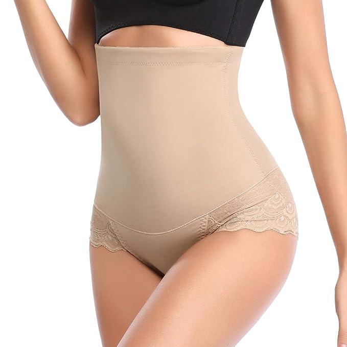 819ff65bcb Joyshaper High Waist Tummy Control Shapewear Body Shaper for Women Slimming  Control Knickers Briefs Thong Butt Lifter Seamless Shaping Panties Pants  Waist ...