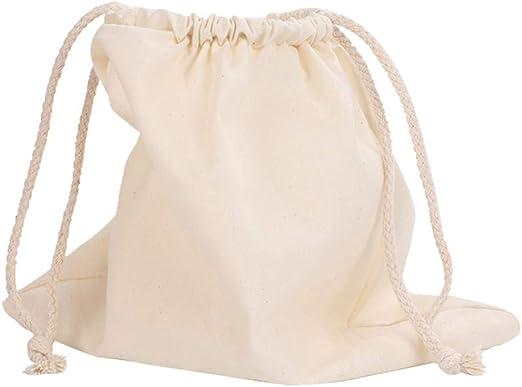 8 * 10in bolsa con cordón de algodón Bundle Supermercado Pan de ...