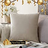 Miulee Velvet Soft Large Decorative Cushion Cover
