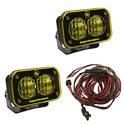 51TmNXPNdXL._SX425_ amazon com baja designs atv s2 pro pair wide cornering led lights
