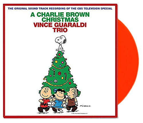 Vince Guaraldi Trio ‎- A Charlie Brown Christmas Limited Edition Red Vinyl LP [VG+/NM-Condition]