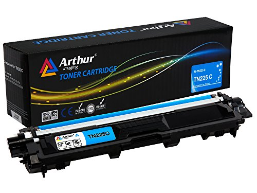 Arthur Imaging Compatible Toner Cartridge Replacement for Brother TN225 (Cyan, 1-Pack) by Arthur Imaging