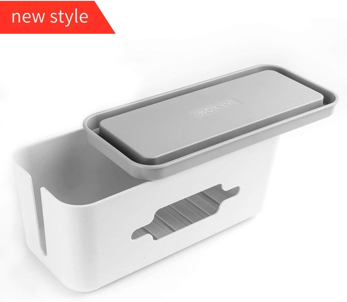 Caja Cables Soporte de teléfono y tableta con soporte.Qicent Caja ...