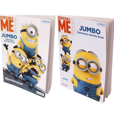 Minions Coloring Book Despicable Me Fun Activity for Children (96 Pages) ()
