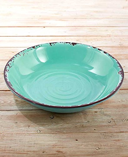 Oversized Serving Bowl by GetSet2Save Blueberry