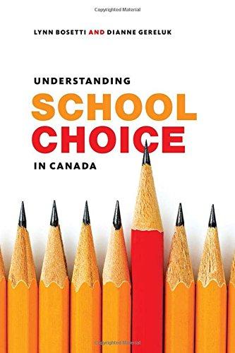 Understanding School Choice in Canada