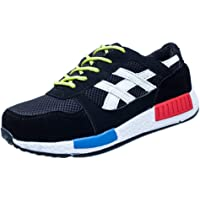 Aiweijia Mens Womens Safety Trainers Shoes Work Shoes Midsole Protection