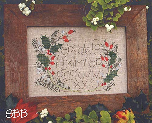 (Snowberry Alphabet Cross Stitch Chart)