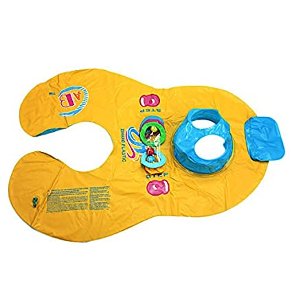 Tyche Madre y bebé inflable nadar flotador niño balsa asiento de la silla anillo de natación