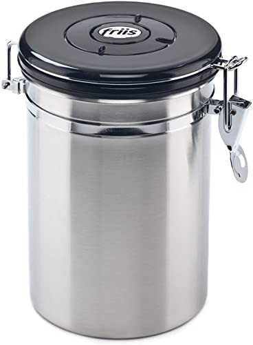 Friis-16oz-Stainless-Steel-Coffee-Vault-Canister