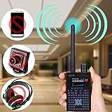 Niphon Anti Spy RF Detector Wireless Bug Detector Signal for Hidden Camera Laser Lens GSM Listening Device Finder Radar Radio Scanner Wireless Signal Alarm
