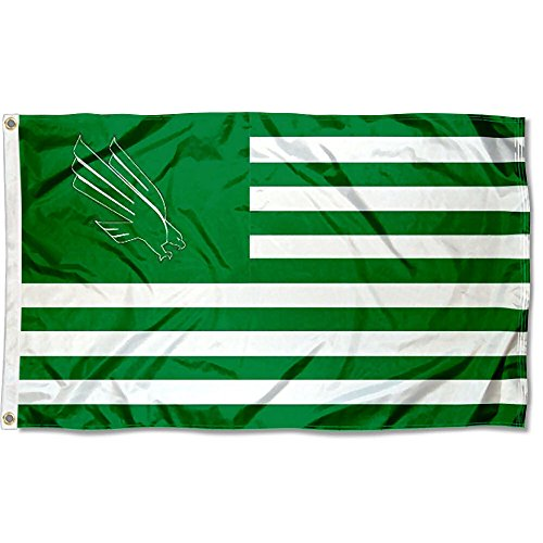 North Texas Mean Green Stars and Stripes Nation Flag (Unt Flag)