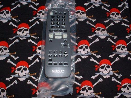 Sharp TV DVD Remote Control G1627SA G1627SB G1396SA Supplied