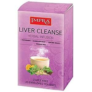Amazon Com Impra Liver Cleanse Herbal Tea 1 3g 20ct