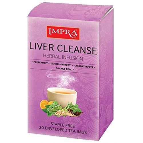 Impra Liver Cleanse, Herbal Tea, 1. 3g /20ct/26 g