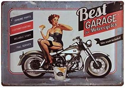 Vintage Retro Metal Tin Sign Bar Poster Man Cave Garage Club Customization Decor