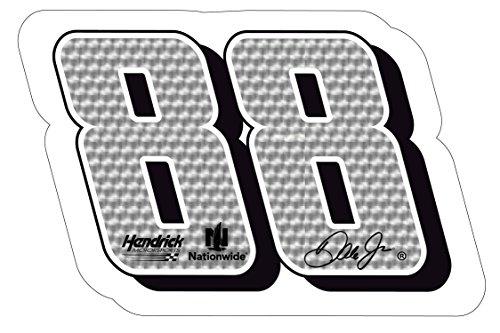 NASCAR #88 DALE JR. DECAL-DALE JR. STICKER-JUMBO 10