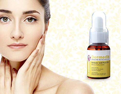 RETINOIC ACID YELLOW PEEL 25% Face Wrinkle Scar Acne Pores 1.69oz