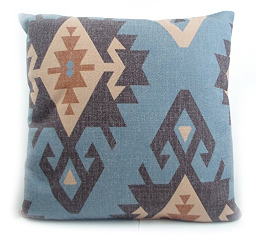 Cotton Linen Pillow With Old Turkish Kilim Pattern Old Kilim Pillow