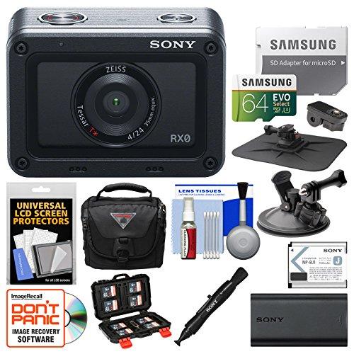 Sony DSC-RX0 Ultra-Compact Shock & Waterproof Video Camera w