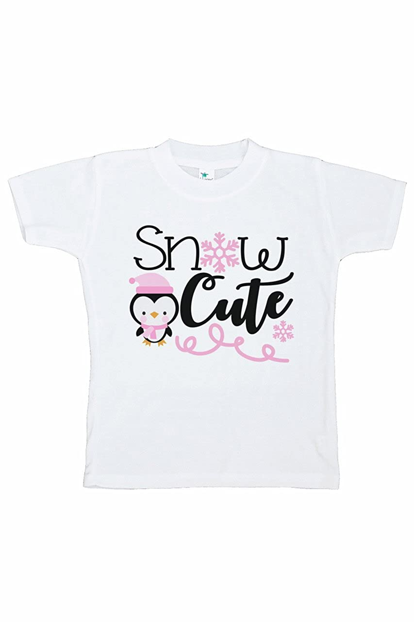 7 ate 9 Apparel Girls Penguin Winter T-Shirt
