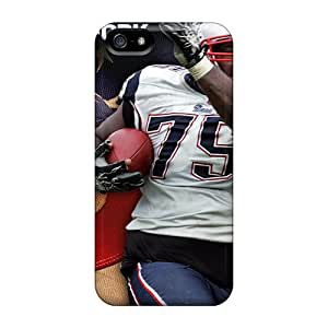 New Hovno7205hAmWC Vince Wilfork New England Patriots Nfl Skin Case Cover Shatterproof Case For Iphone 5/5s