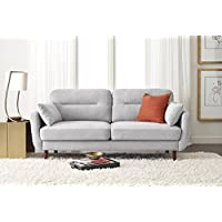 Serta Sierra Collection 61 Loveseat in Smoke Gray