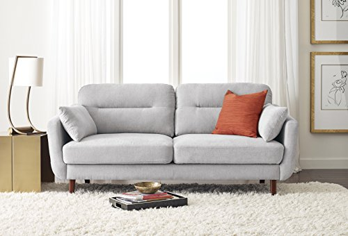 Amazon Com Serta Sierra Collection 61 Quot Loveseat In Smoke