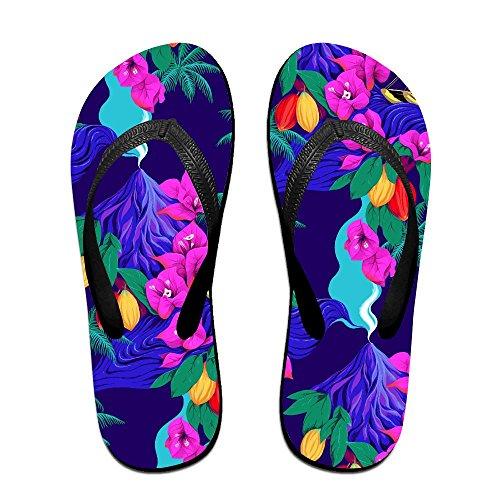FPDragon Tiger King 看图王.jpg Unisex Soft Flip-flops Beach Sandals Slippers Classical Thong Sandals (Tiger Flip Sandals)