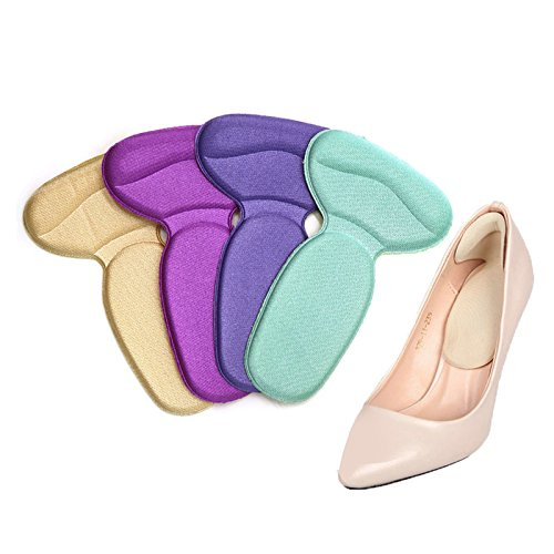 NUMBERNINE,3Pair Soft Multicolor Insole Pads High Heel Foot Care Protector Anti Slip Cushion Shoe Insert Dance Pedicure Tools Hot, Foot Care