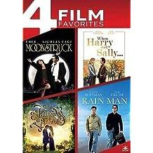 4 Film Favorites - Moonstruck/When Harry Met Sally/The Princess Bride/Rain Man