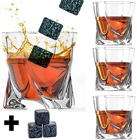 Whiskey Glass Set Stones Fashioned product image