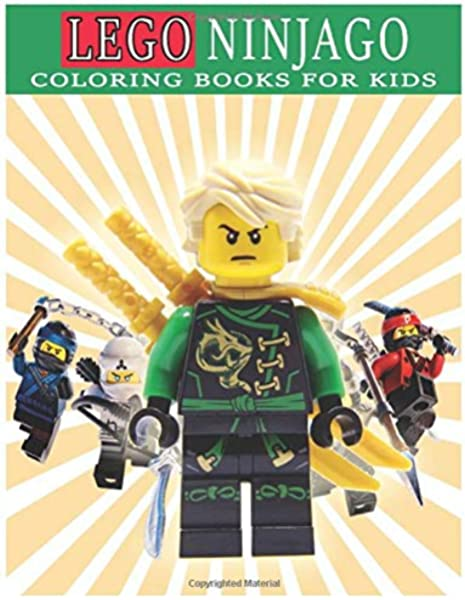 LEGO Ninjago Coloring Books For Kids: 48 Awesome Illustrations For Kids, To  Inspire Creativity And Relaxation, (Perfect For Children Ages 4-12): Books,  Art: 9798634964010: Amazon.com: Books