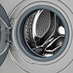 Panasonic 7 kg Fully-Automatic Front Loading Washing Machine (NA-127MB2L01, Silver, Inbuilt Heater)