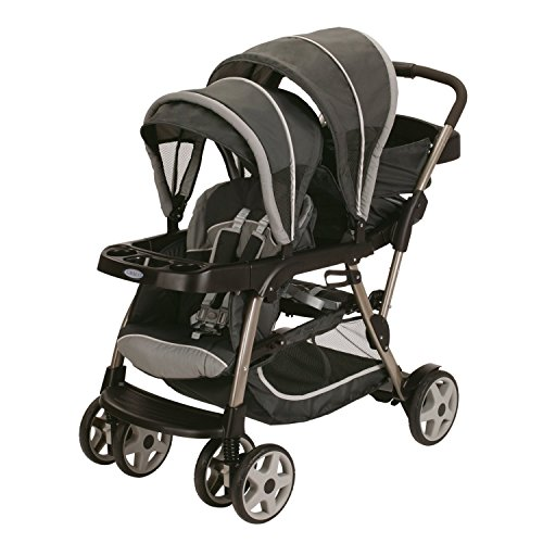 Graco Ready2Grow Click Connect LX Stroller, Glacier (Discontinued by...