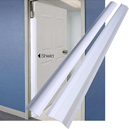 for 90 Degree Doors (Set) - Guard for Door Finger Child Safety. By Carlsbad Safety Products ()