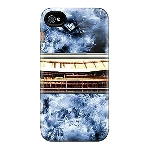 IanJoeyPatricia Iphone 4/4s Bumper Cell-phone Hard Cover Unique Design Fashion Denver Broncos Pattern [Qxc12841JKxG]