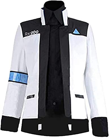 Amazon Com Men S Become Human Uniform Connor Jacket Halloween Cosplay Costume Clothing