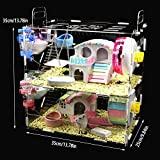 NXL Animal Hideout Acrylic Hamster Cage Hamster Toy