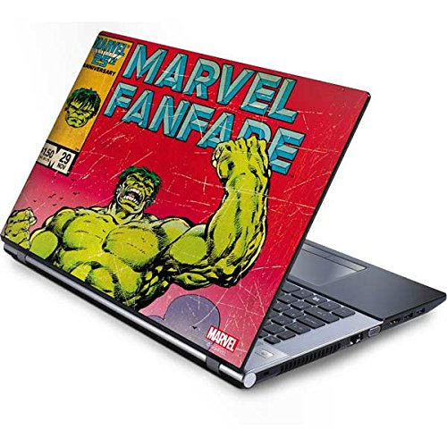 (Skinit Marvel Comics Generic 12in Laptop (10.6in X 8.3in) Skin - Hulk Marvel Fanfare Design - Ultra Thin, Lightweight Vinyl Decal Protection )