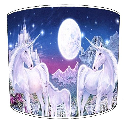 8 Inch Ceiling unicorn horses lampshades12 Premier Lighting