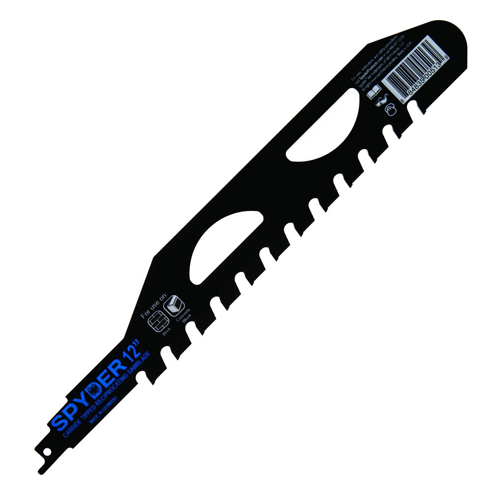 Spyder 200210 Masonry Reciprocating Saw Blade by Spyder