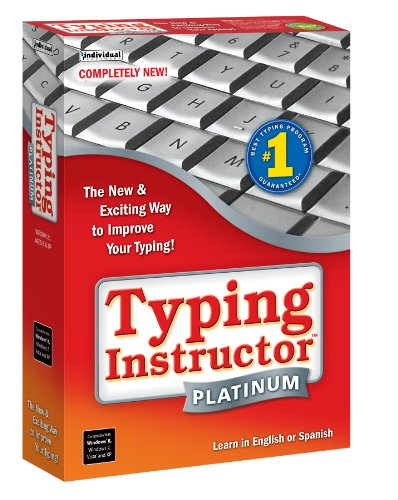 Picture of a Typing Instructor Platinum 21 18527104941,18527104958