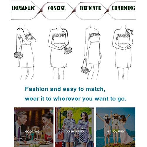 Tassel Clutch Dress Silver Bag Purple Mobile Bag Bag Phone Women Bag Makeup Messenger Party Shoulder Silk Dinner GXYCP Wedding PtIq1n